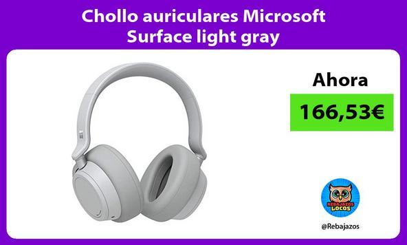 Chollo auriculares Microsoft Surface light gray