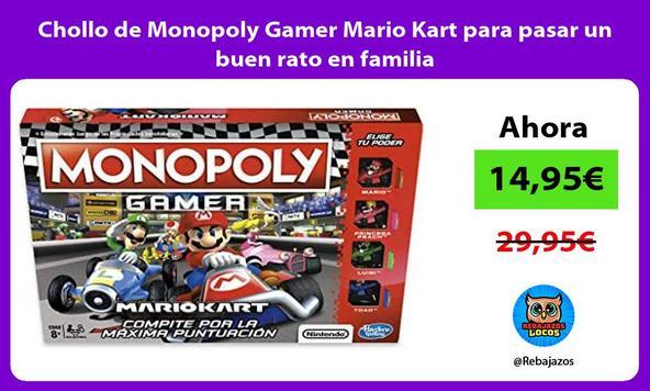 Chollo de Monopoly Gamer Mario Kart para pasar un buen rato en familia