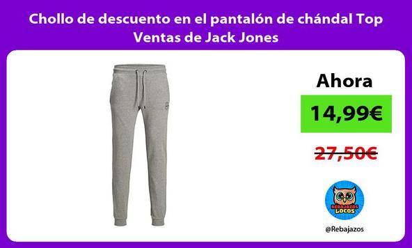 Chollo de descuento en el pantalón de chándal Top Ventas de Jack Jones