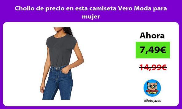 Chollo de precio en esta camiseta Vero Moda para mujer