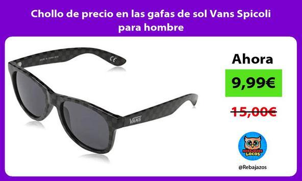 Chollo de precio en las gafas de sol Vans Spicoli para hombre