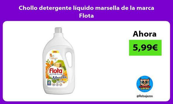Chollo detergente líquido marsella de la marca Flota