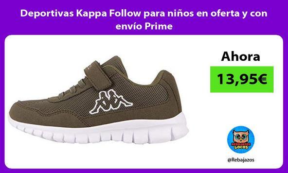 Deportivas Kappa Follow para niños en oferta y con envío Prime