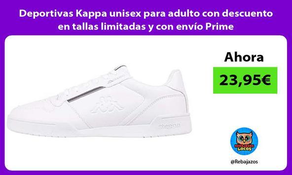 Deportivas Kappa unisex para adulto con descuento en tallas limitadas y con envío Prime