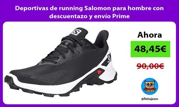 Deportivas de running Salomon para hombre con descuentazo y envío Prime