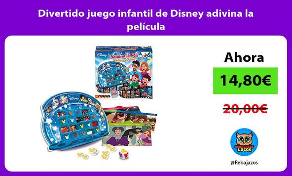 Divertido juego infantil de Disney adivina la película