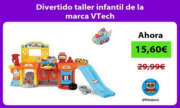 Divertido taller infantil de la marca VTech