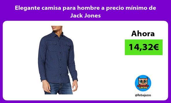 Elegante camisa para hombre a precio mínimo de Jack Jones