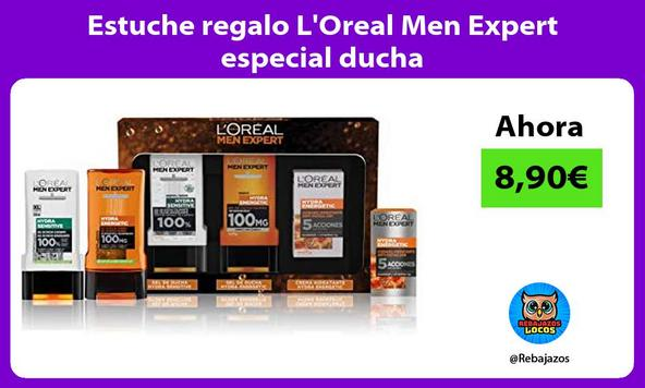 Estuche regalo L'Oreal Men Expert especial ducha