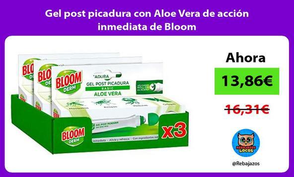 Gel post picadura con Aloe Vera de acción inmediata de Bloom