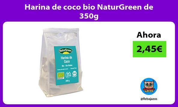 Harina de coco bio NaturGreen de 350g