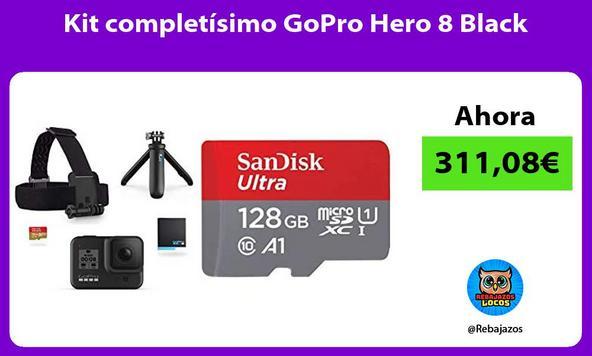 Kit completísimo GoPro Hero 8 Black