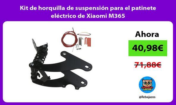 Kit de horquilla de suspensión para el patinete eléctrico de Xiaomi M365