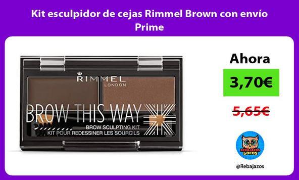 Kit esculpidor de cejas Rimmel Brown con envío Prime