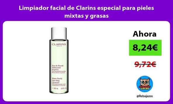 Limpiador facial de Clarins especial para pieles mixtas y grasas