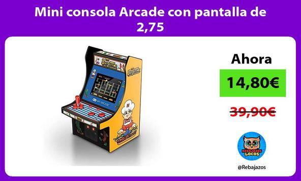 Mini consola Arcade con pantalla de 2,75