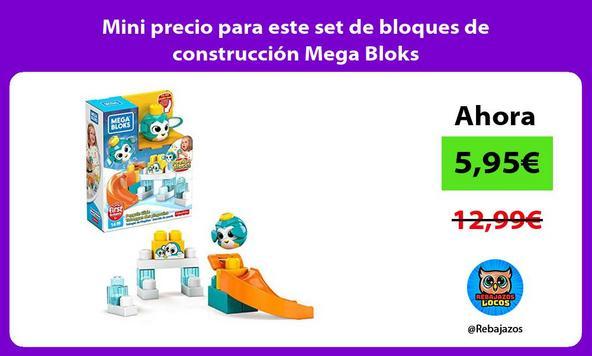 Mini precio para este set de bloques de construcción Mega Bloks