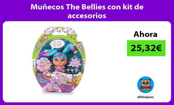 Muñecos The Bellies con kit de accesorios