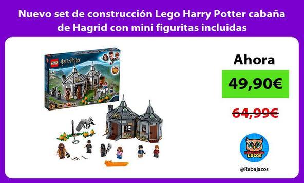 Nuevo set de construcción Lego Harry Potter cabaña de Hagrid con mini figuritas incluidas