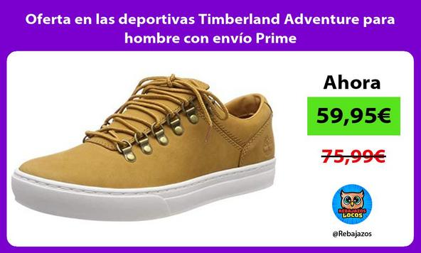 Oferta en las deportivas Timberland Adventure para hombre con envío Prime