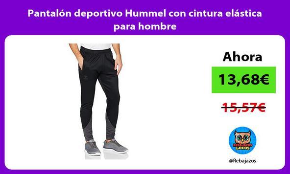 Pantalón deportivo Hummel con cintura elástica para hombre