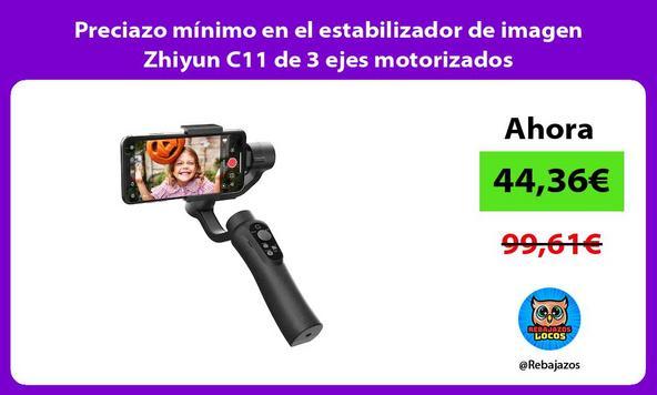 Preciazo mínimo en el estabilizador de imagen Zhiyun C11 de 3 ejes motorizados