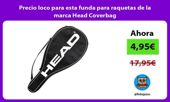Precio loco para esta funda para raquetas de la marca Head Coverbag