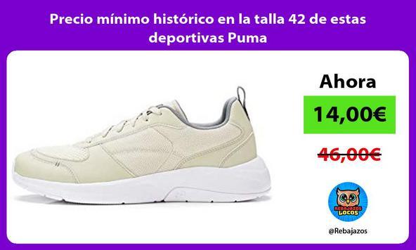 Precio mínimo histórico en la talla 42 de estas deportivas Puma