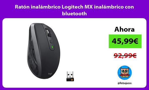 Ratón inalámbrico Logitech MX inalámbrico con bluetooth