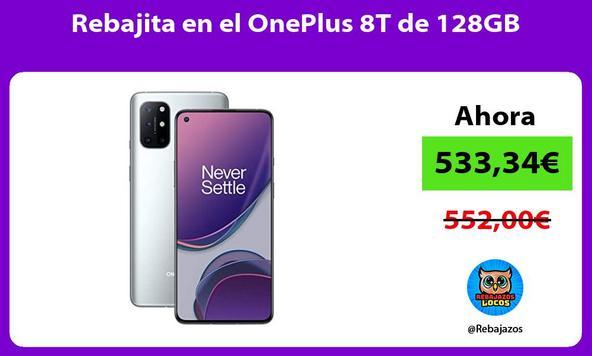 Rebajita en el OnePlus 8T de 128GB