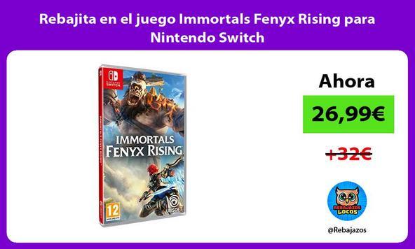 Rebajita en el juego Immortals Fenyx Rising para Nintendo Switch
