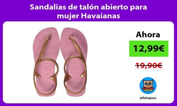 Sandalias de talón abierto para mujer Havaianas