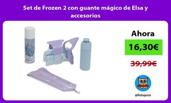 Set de Frozen 2 con guante mágico de Elsa y accesorios