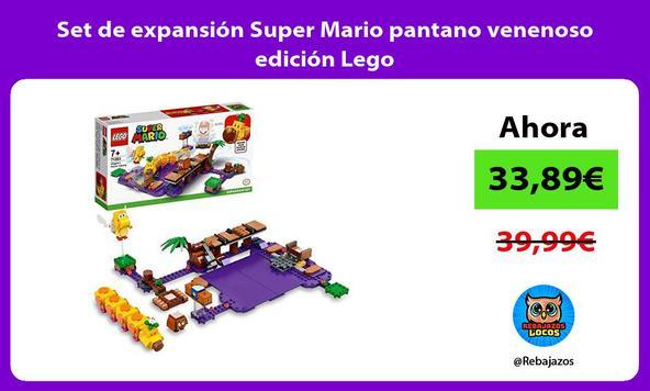 Set de expansión Super Mario pantano venenoso edición Lego