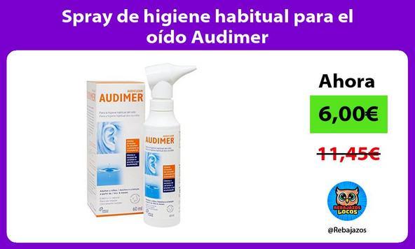 Spray de higiene habitual para el oído Audimer