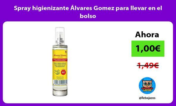 Spray higienizante Álvares Gomez para llevar en el bolso