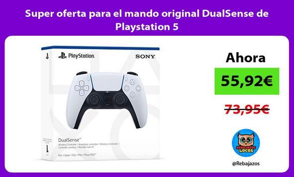 Super oferta para el mando original DualSense de Playstation 5