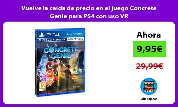 Vuelve la caída de precio en el juego Concrete Genie para PS4 con uso VR