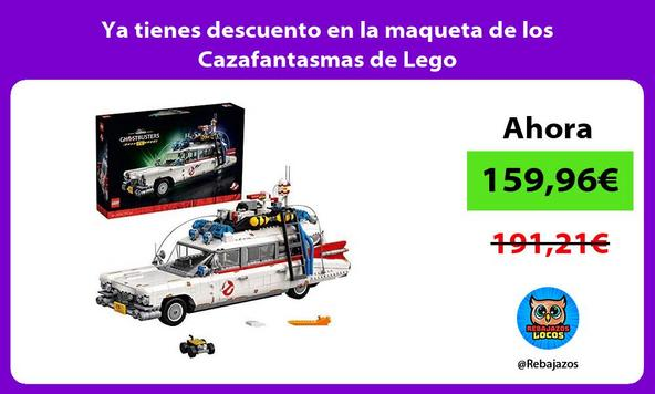 Ya tienes descuento en la maqueta de los Cazafantasmas de Lego