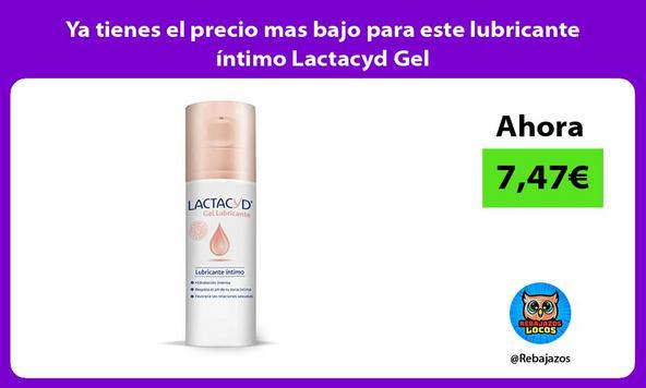 Ya tienes el precio mas bajo para este lubricante íntimo Lactacyd Gel