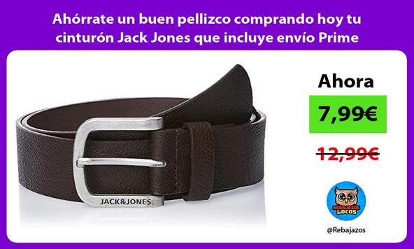Ahórrate un buen pellizco comprando hoy tu cinturón Jack Jones que incluye envío Prime