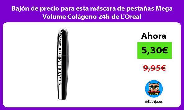 Bajón de precio para esta máscara de pestañas Mega Volume Colágeno 24h de L'Oreal