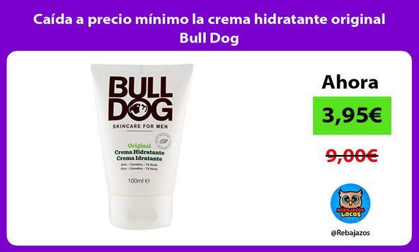 Caída a precio mínimo la crema hidratante original Bull Dog