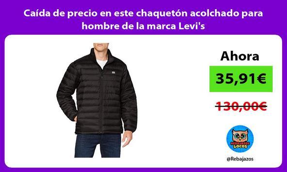 Caída de precio en este chaquetón acolchado para hombre de la marca Levi's