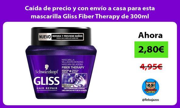 Caída de precio y con envío a casa para esta mascarilla Gliss Fiber Therapy de 300ml