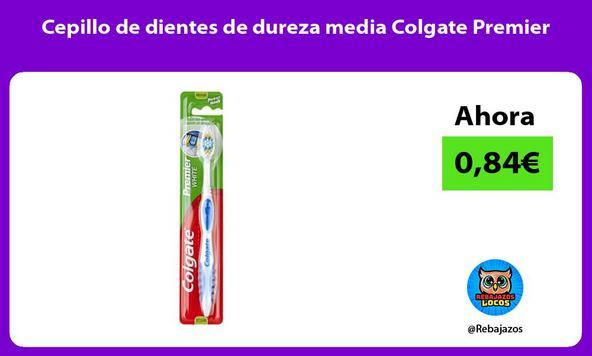 Cepillo de dientes de dureza media Colgate Premier