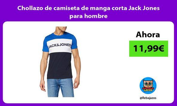 Chollazo de camiseta de manga corta Jack Jones para hombre