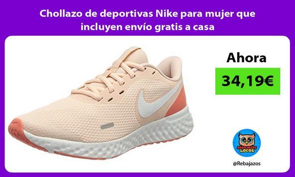 Chollazo de deportivas Nike para mujer que incluyen envío gratis a casa
