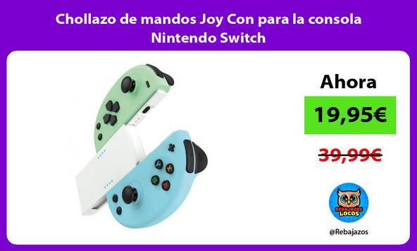 Chollazo de mandos Joy Con para la consola Nintendo Switch