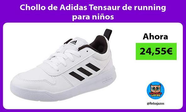 Chollo de Adidas Tensaur de running para niños